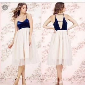 Laura Conrad Velvet Tulle Ballet Dress